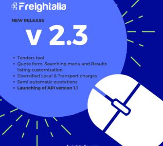 Version 2.3 Freightalia