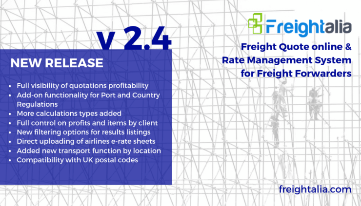 Launching of the All-New Freightalia v2 4 - Freightalia